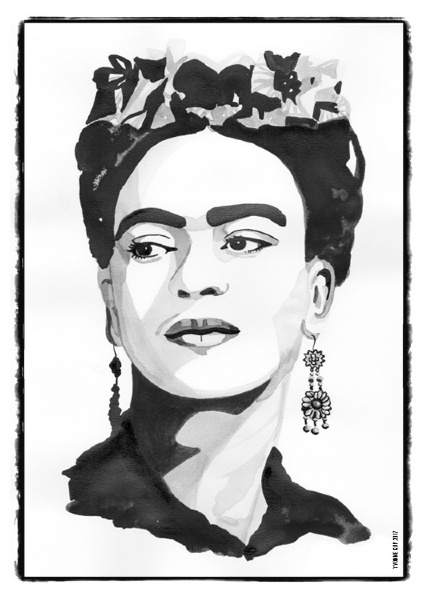 Iconic Woman - Frida Kahlo