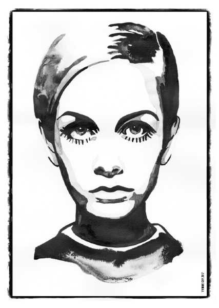 Iconic Woman - Twiggy