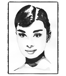 Iconic Woman - Audrey Hepburn